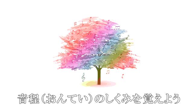 音楽の木と音程